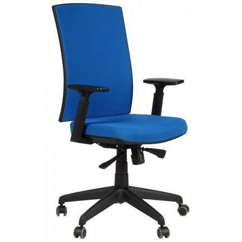 Krzesło biurowe obrotowe kb-8922b/niebieski, fotel biurowy marki Stema - kb