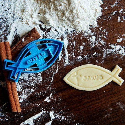 Mygiftdna Ichthys - personalizowana foremka 3d do ciastek - foremka 3d