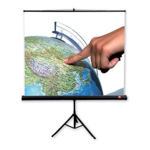 Ekran na statywie 175x175cm avtek tripod standard 175 - matt white marki Vidis