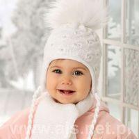 Ajs Komplet 38-407 czapka+szalik rozmiar: uniwersalny, kolor: wielokolorowy, ajs