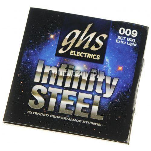 GHS Infinity Steel struny do gitary elektrycznej 9-42