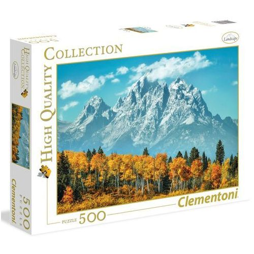 Clementoni Puzzle high quality collection grand teton in fall 500