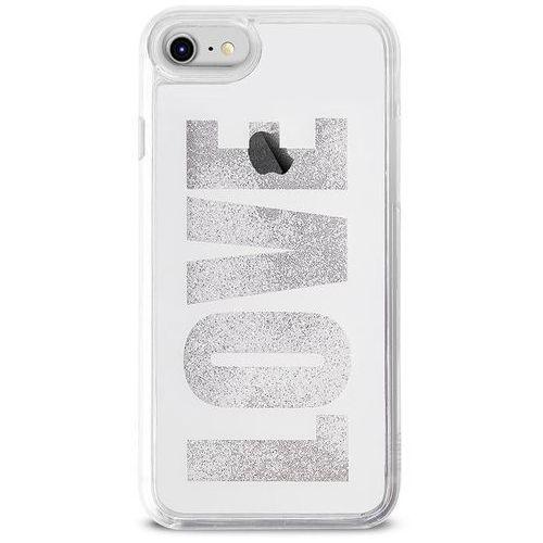 Puro aqua love - etui iphone 8 / 7 / 6s / 6 (white) (8033830259340)