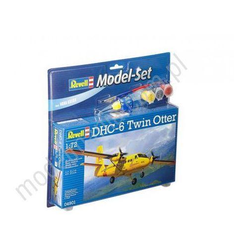Samolot transportowy DHC-6 Twin Otter (z farbami) Revell 64901