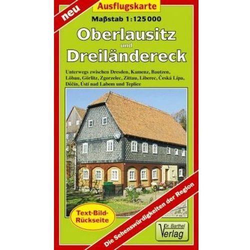 Doktor Barthel Karte Oberlausitz und Dreiländereck (9783895911842)