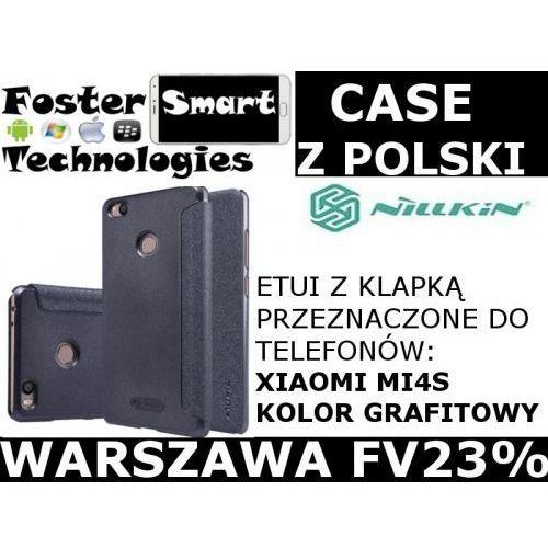 Nillkin CASE KLAPKA Xiaomi MI4S DARK GREY FV23%, kolor szary