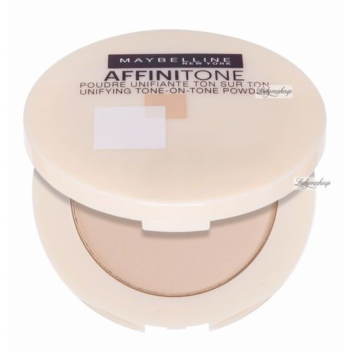 MAYBELLINE - AFFINITONE TONE-ON-TONE POWDER - Puder do twarzy - 17 - ROSE BEIGE
