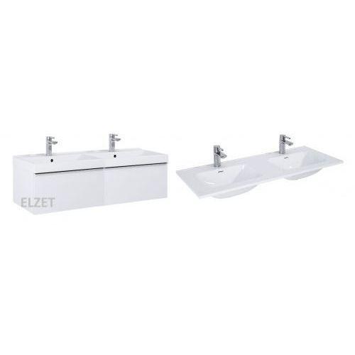 ELITA szafka Look 1S white + umywalka Skappa 120 2x167075.145875, kolor biały