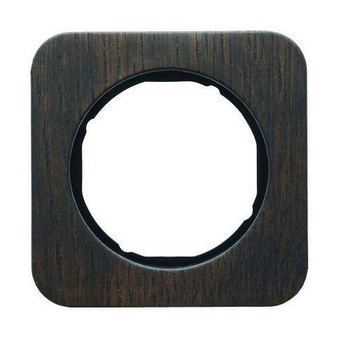 Ramka 1-krotna Berker R.1 dąb/czarny