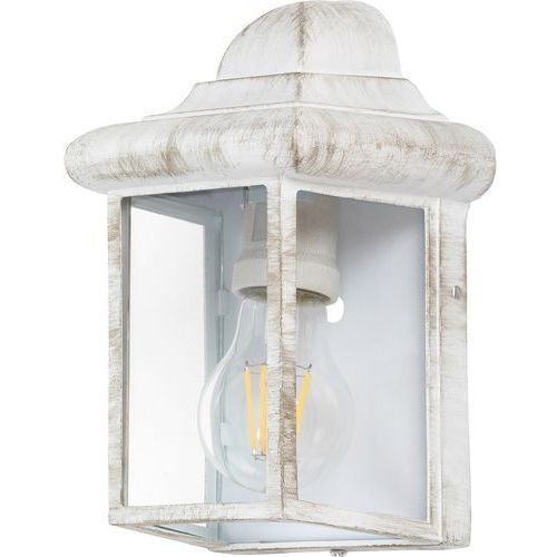 Kinkiet norvich 8753 lampa zewnętrzna 1x60w e27 ip43 biały antyczny marki Rabalux