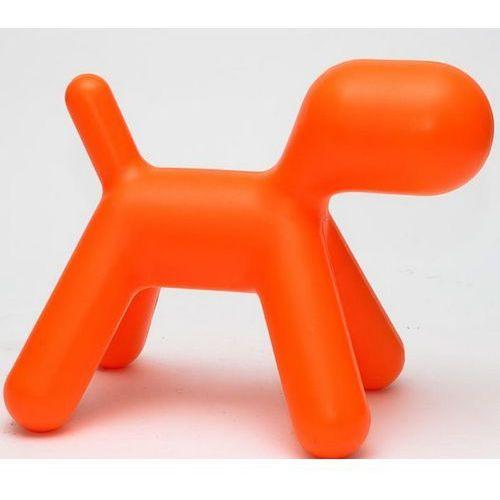 D2 Siedzisko dziecięce pies pomarańczowe