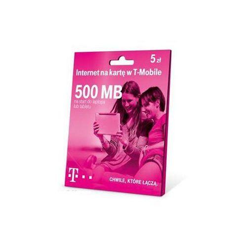 Starter T-Mobile 500 MB/ DARMOWY TRANSPORT DLA ZAMÓWIEŃ OD 99 zł (5907791701701)