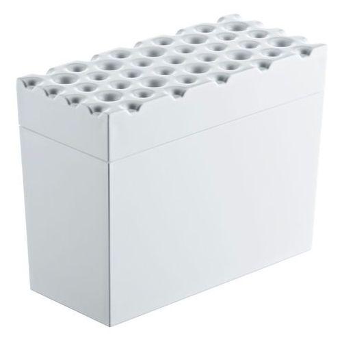Pojemnik na pieczywo chrupkie BRØD, chlebak - kolor biały, KOZIOL