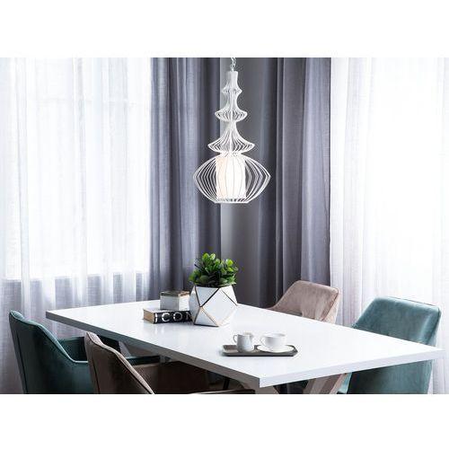 Lampa wisząca metalowa biała KOLVA (4260624111506)