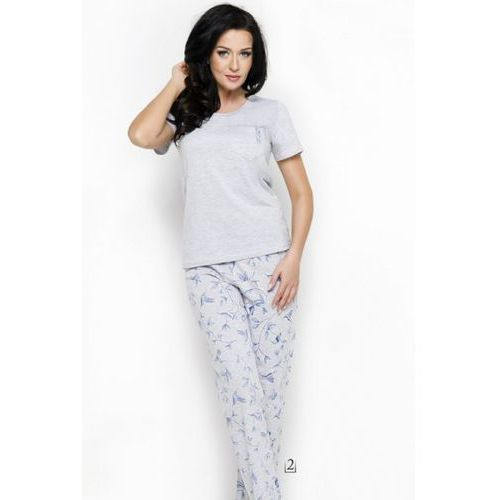 Piżama damska model ola 2231 aw/18 k2 grey marki Taro