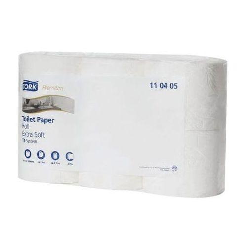 Papier toaletowy w rolkach  biały ekstra miękki 4-warstwowy marki Tork