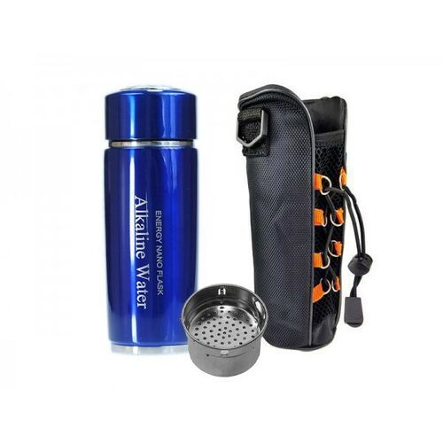 Grekos sp. z o.o. Jonizator wody water flask niebieski + filtr i etui gratis