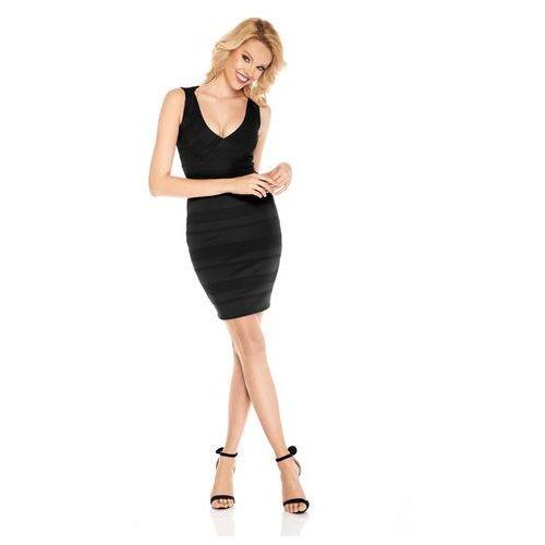 Sugarfree Sukienka vivian w kolorze czarnym