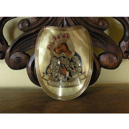 Złoty ryngraf - matka boża kalwaryjska - do szabel (r17) marki Płatnerze