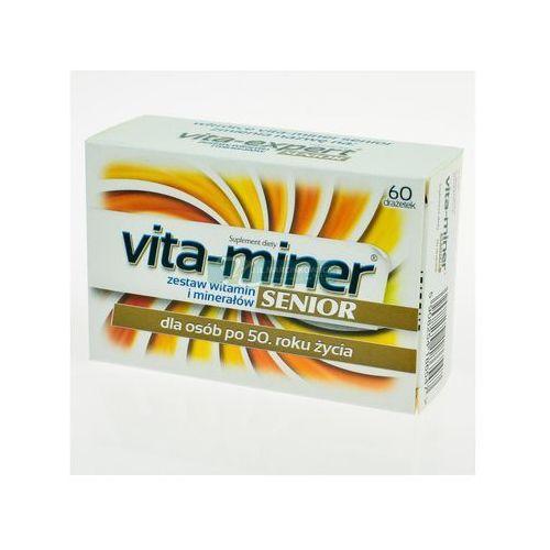 Tabletki Vita miner Senior x 60 draż.