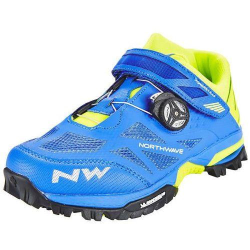 enduro mid buty mężczyźni żółty/niebieski 45 2018 buty mtb zatrzaskowe marki Northwave