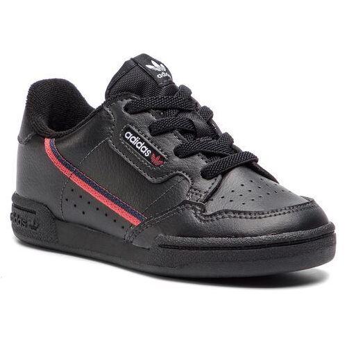 huge discount a341e 69424 Adidas Buty - continental 80 i g28217 cblackscarleconavy