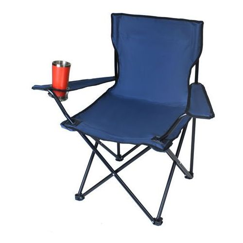 Malatec Krzesło wędkarskie niebieskie