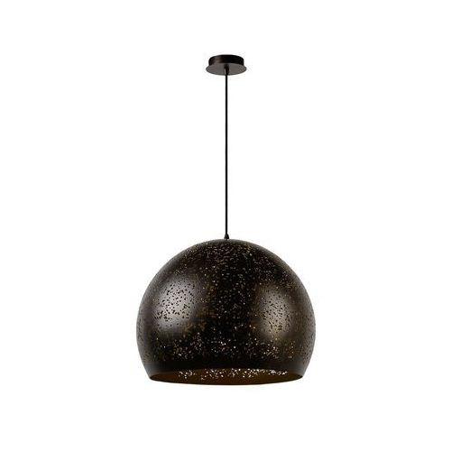 Lucide 21407/50/97 - lampa wisząca eternal 1xe27/60w/230v czarny 50 cm