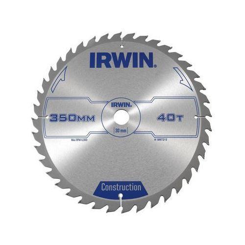 Tarcza do pilarki tarczowej PRO350X40TX30 śr. 350 mm 40 z IRWIN (5706918972150)