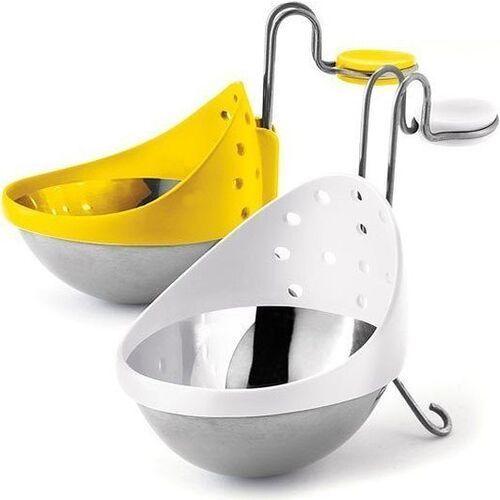 Foremki do gotowania jajek w koszulkach cuisipro 2 szt. stalowe