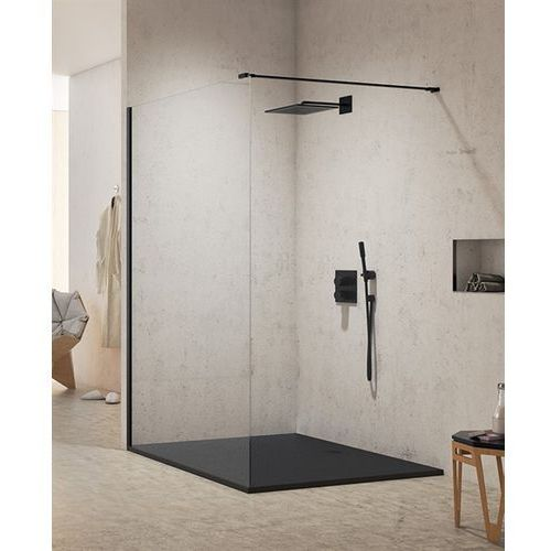 Ścianka prysznicowa 130 cm exk-0062 new modus black marki New trendy