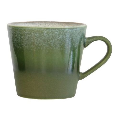kubek ceramiczny 70's do cappuccino grass ace6054 marki Hk living