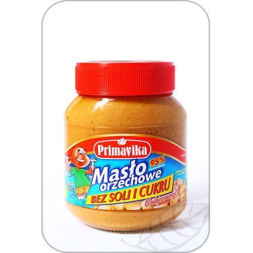 Masło orzechowe bez soli i cukru 350g