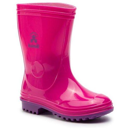 Kalosze KAMIK - Pebbles EK9116F Pink, kolor różowy