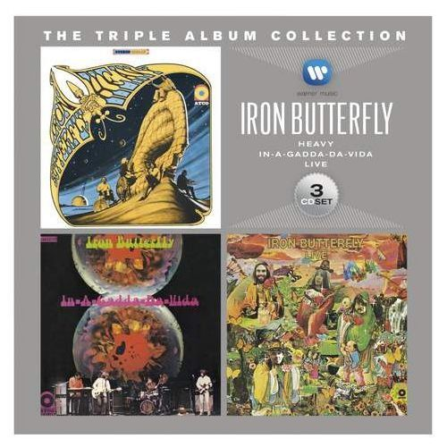 Warner music / rhino Triple album collection, the