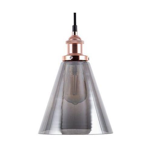 Lampa wisząca szklana/miedziana ENZA S (4260586355833)