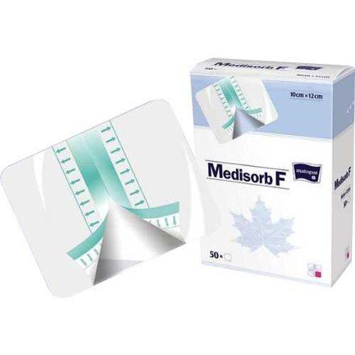 Tzmo medisorb f opatrunek do ochrony delikatnych tkanek 10x12cm - 5szt
