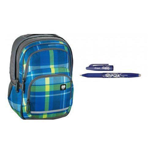 plecak szkolny blaby woody blue pióro +pilot frixion wymazywalne marki Hama