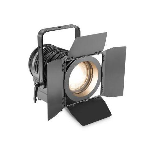 Cameo ts 100 ww-spotlight 100w ciepła biała dioda led, reflektor teatralny, czarna obudowa