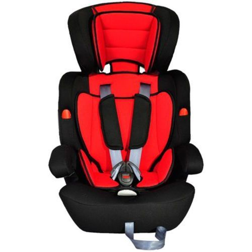 fotelik samochodowy, kategoria i ii iii (9-36 kg), czerwono-czarny od producenta Vidaxl