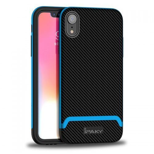 Etui Ipaky Bumblebee Iphone XR z niebieską ramką, Ipaky_20181123155126