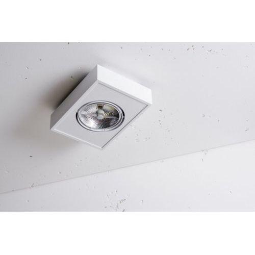 Lampa sufitowa lava x1 nt biała 100w żarówka led gratis!, 3-0096b marki Labra