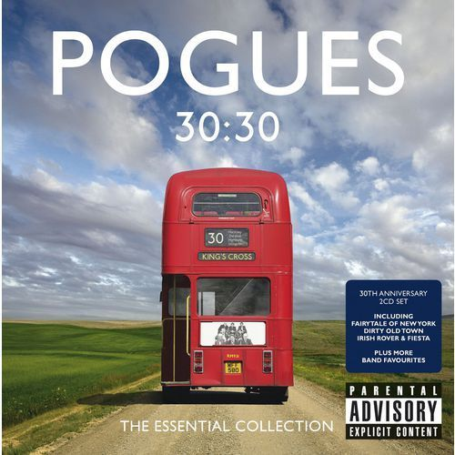 Warner music poland The pogues - 30.30: the essential collection - album 2 płytowy (cd) (5053105660353)