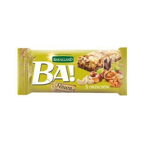 Bakalland 40g ba! baton zbożowy 5 orzechów