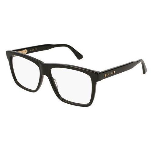 Okulary korekcyjne gg 0268o 001 marki Gucci