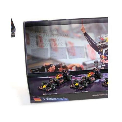 MINICHAMPS 3 Car Set Red Bull Racing - DARMOWA DOSTAWA!
