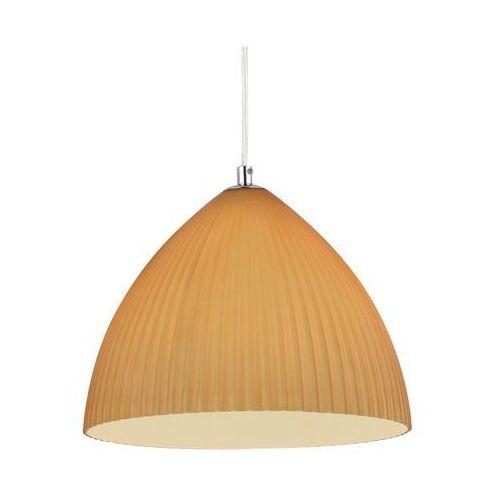 Lampa wisząca GIZELA miodowa ceramiczna E27 REALITY