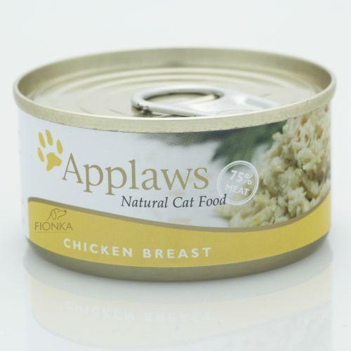 chicken breast karma dla kotów pierś z kurczaka puszka marki Applaws