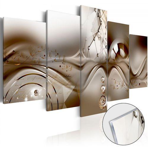 Artgeist Obraz na szkle akrylowym - artystyczna dysharmonia [glass]
