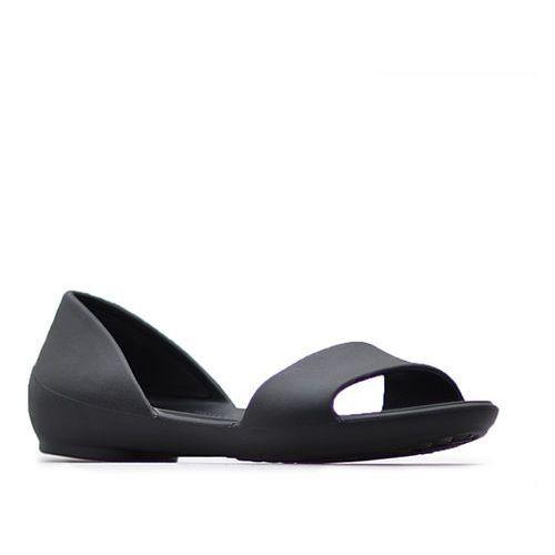 Sandały 204291 czarne marki Crocs